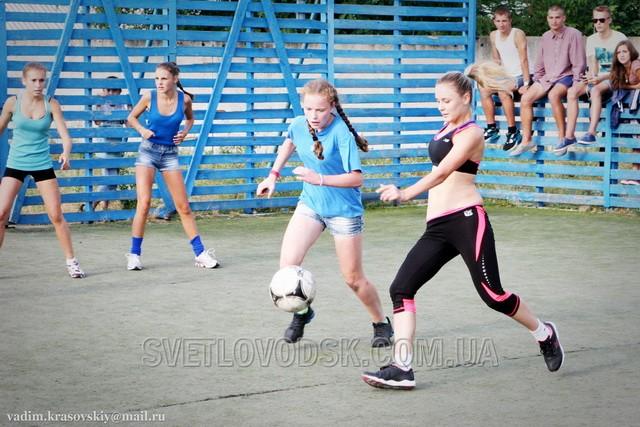 В Светловодске появился женский футбол