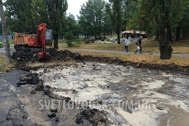 Друга черга капітального ремонту вулиці Бойка розпочалася