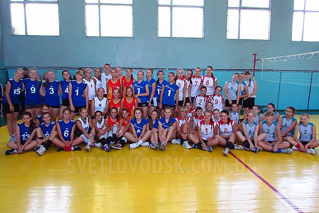 Світловодські волейболістки вибороли срібло