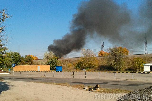 Пожежі в гаражах не було, сталося забруднення навколишнього середовища