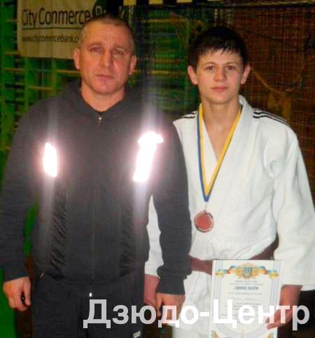 Василь Сампан — переможець Кубку федерації дзюдо Києва