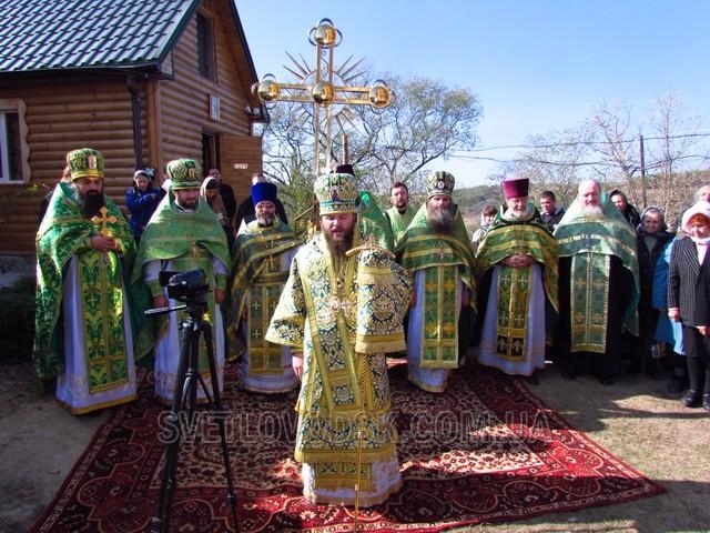 Освячення храму Преображення Господнього відбулося у Таловій Балці