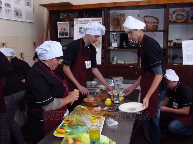 Вперше у Світловодську відбувся конкурс кухарів