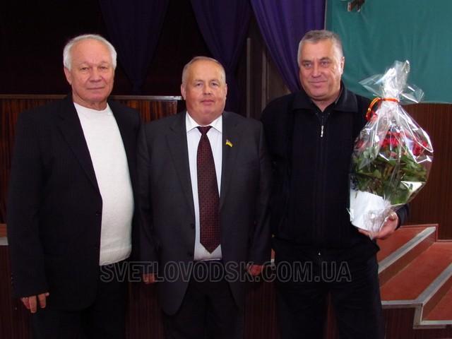 З Днем автомобіліста привітав міський голова колектив АТП-13507