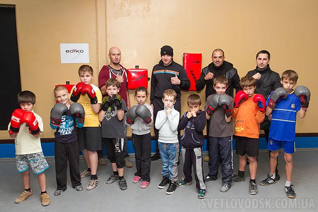 До уваги батьків! У міському спорткомплексі відкрилася нова секція боксу для дітей!