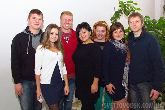 Колектив Світловодського міського Палацу культури приймав вітання з професійним святом