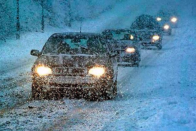 ДАІ України нагадує: автомобіль має бути підготовлений до експлуатації в зимовий період