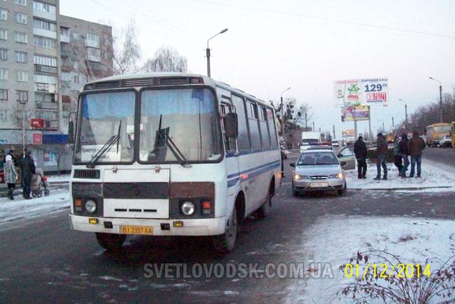 ДТП случилось напротив роддома в Светловодске
