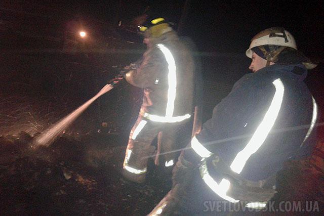 Пильність сусідки та оперативність рятувальників завадила поширенню пожежі (ОНОВЛЕНО)