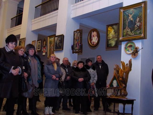 У головному культурному центрі міста відкрилася персональна виставка Анатолія Татарова