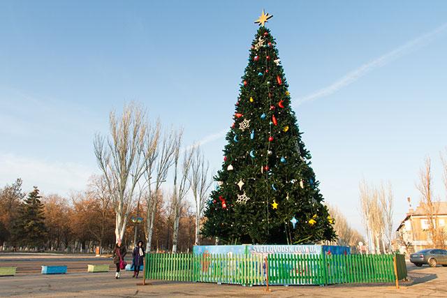 Новорічну ялинку та міський басейн у Світловодську відкриють на День Святого Миколая