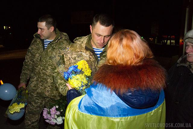 Захисник України Ігор Цвік прибув додому у 24-денну відпустку з зони АТО