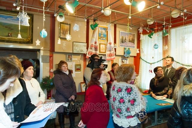 Різдвяні мотиви знову прикрасили краєзнавчий музей