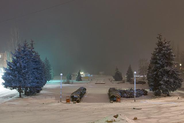 Фотофакт: У Світловодськ прийшла справжня зима!