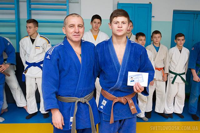 Василь Сампан — майстер спорту України з дзюдо!