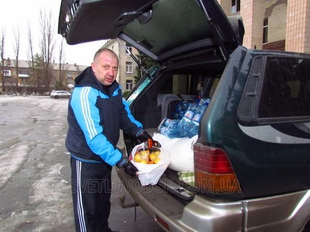 Для бійців 55-ї артилерійської бригади в зону АТО відправлено автомобіль (ДОПОВНЕНО)
