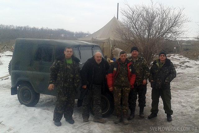 """Автомобіль УАЗ-469 вже """"працює"""" в зоні АТО"""