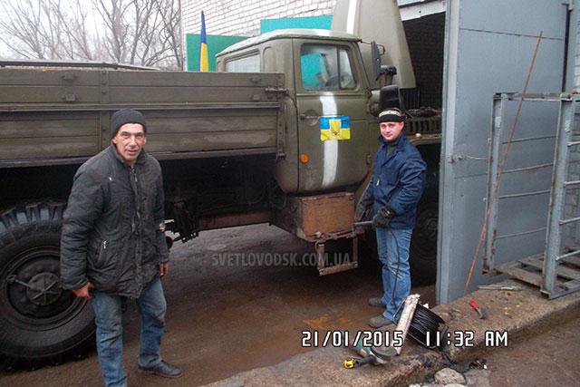Автомобіль Урал 375А для потреб АТО відремонтували у Світловодському УЕГГ