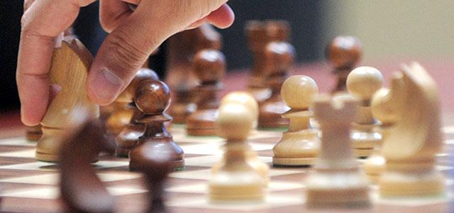 Ігор Денисов — переможець бліц-турніру з шахів