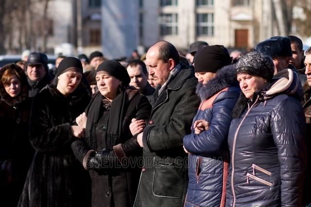 Світловодськ попрощався з захисником України Андрієм Ільїним