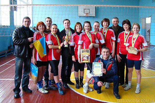 Кубок Чигирина з волейболу вибороли світловодські спортсменки!