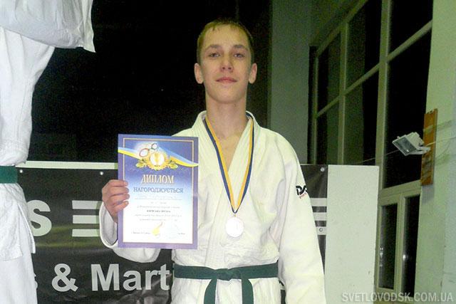 Илья Середенко — бронзовый призёр престижного турнира по дзюдо