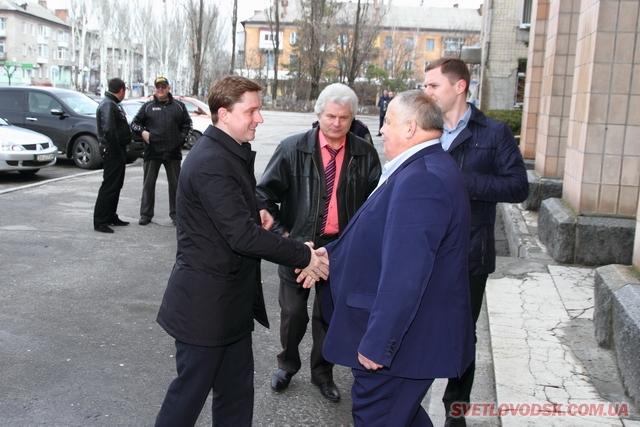 Народний депутат України Олесь Довгий побував у Світловодську (ДОПОВНЕНО)