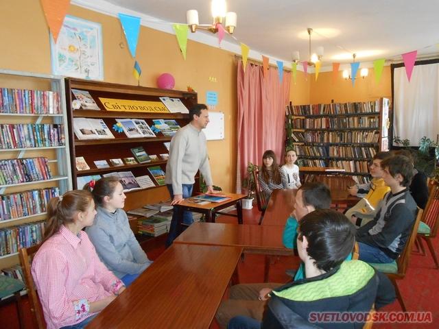 Літературно-туристичний круїз відбувся у бібліотеці-філії №2