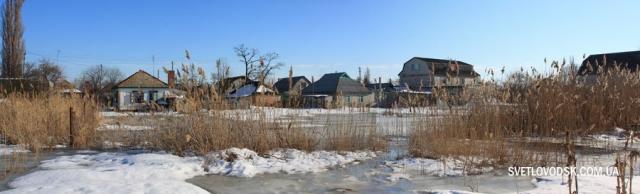 Рівень води у Великому озері, що у Хмельницькому мікрорайоні Світловодська, вдалося стабілізувати