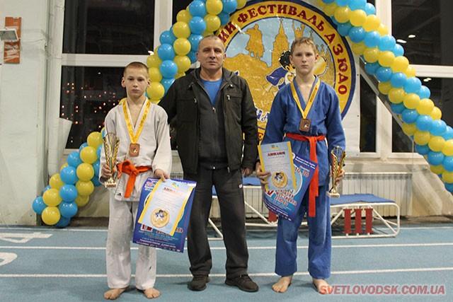 Світловодські дзюдоїсти — призери Всеукраїнської турніру