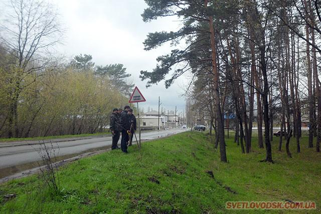 Вирубка дерев заради забезпечення безпеки руху на переїзді