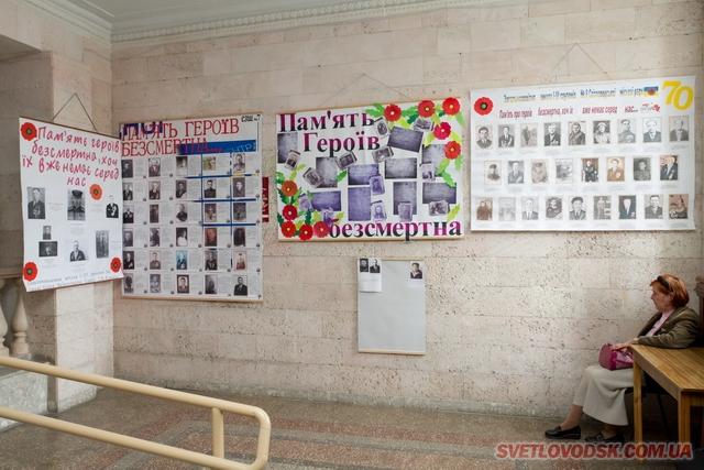 «Пам'ять героїв безсмертна» — виставка плакатів у Світловодському міськвиконкомі
