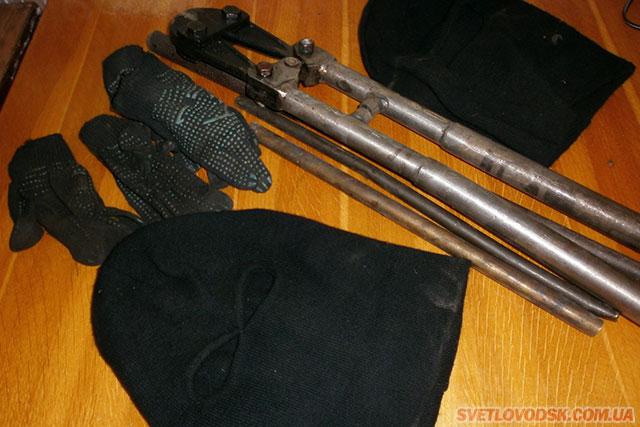 Крадіїв металу затримали правоохоронці — допоміг небайдужий місцевий житель