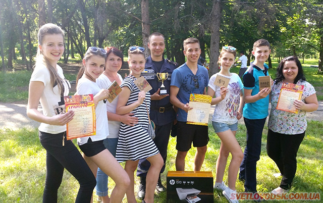 Золотий кубок фестивалю дружин юних пожежних вперше у Світловодську!