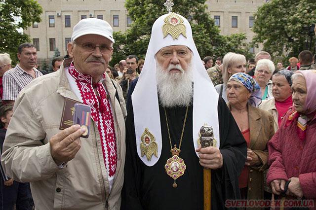 Медаллю «За жертовність і любов до України» нагороджено Івана Довбиша