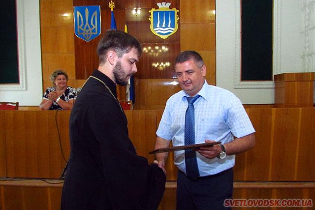 Меценати Світловодщини отримали нагороди від Одеського загону морської охорони