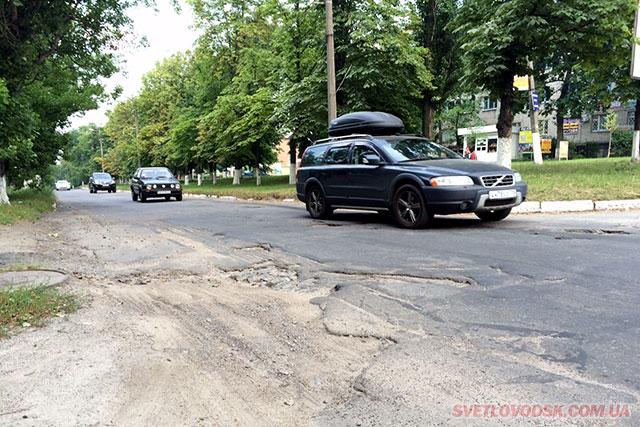 Майже мільйон гривень буде витрачено на ямковий ремонт доріг у Світловодську
