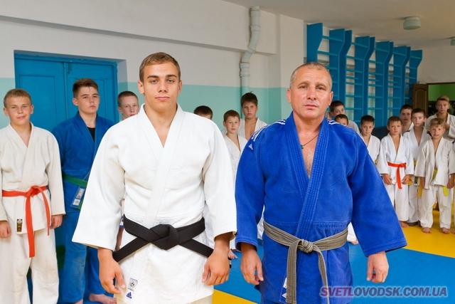Кирило Веселовський — майстер спорту України з дзюдо