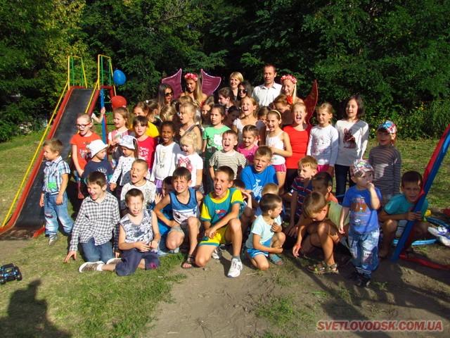 Ще один дитячий майданчик від Костянтина Каспрова відтепер радує малечу