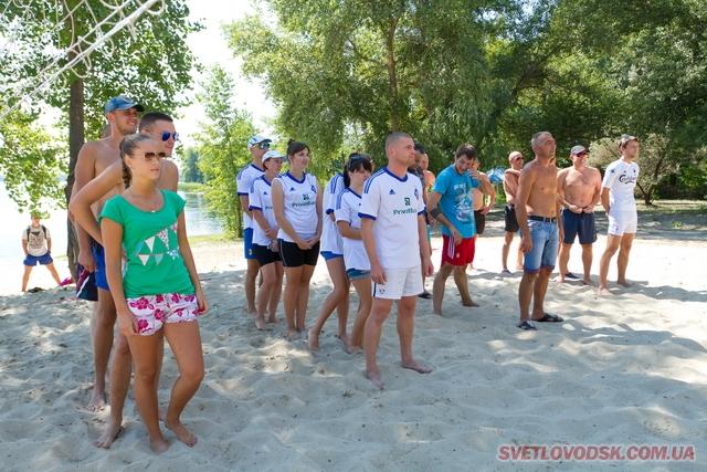 Змагання з пляжного волейболу відбулися на Власівці