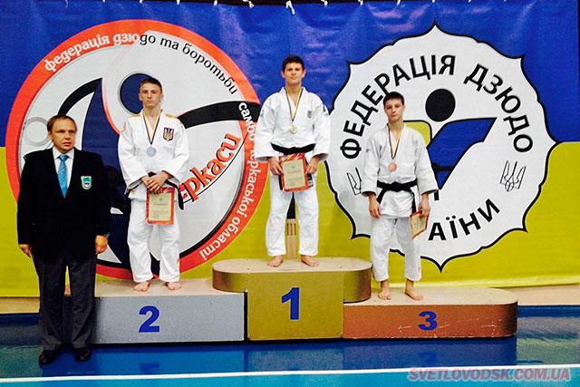 Василь Сампан — перший на призовому олімпі дзюдо в Україні