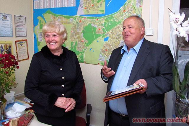 Людмилу Павловську привітав міський голова