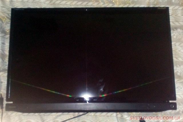 За добу оперативниками встановили злодія та повернули власникові викрадений телевізор