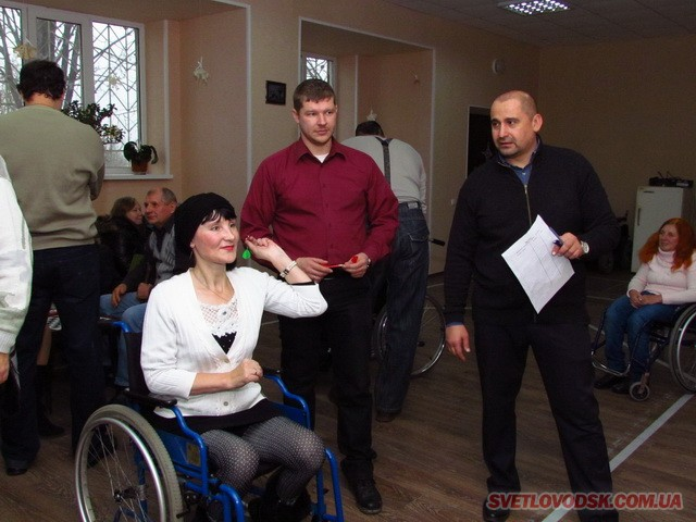 Спартакіада для людей з обмеженими фізичними можливостями відбулася у Світловодську