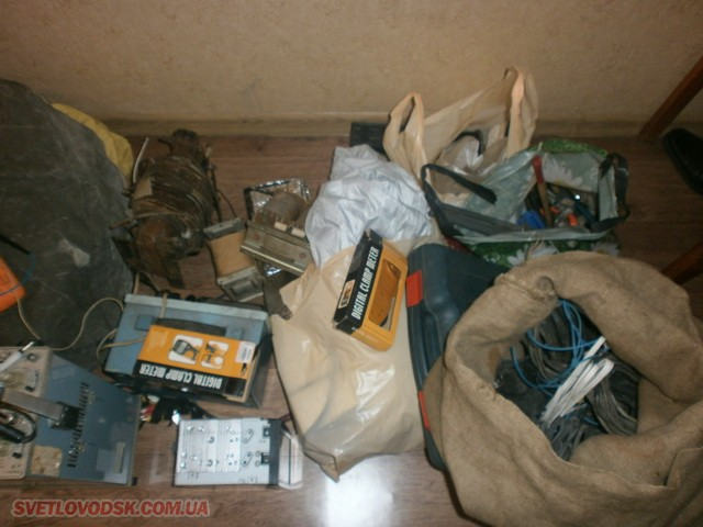 Крадія техніки та інструментів викрили світловодські поліцейські