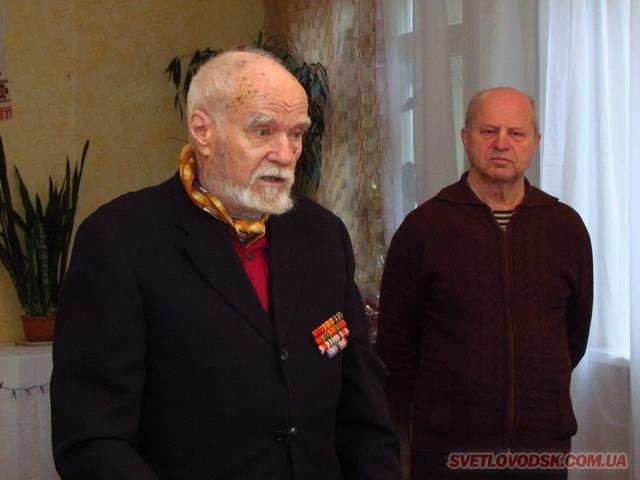 Володимир Сідун та Сергій Романенко приймали  вітання від світловодської громади й депутатів