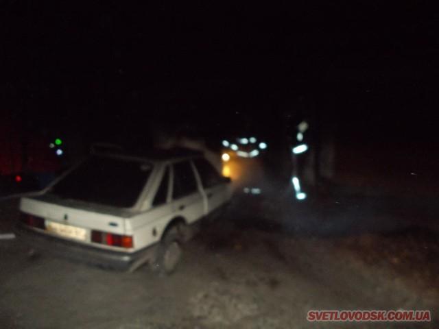 «Ford» врятували світловодські вогнеборці