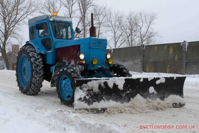 Олександр Плахотний: «Сніг чистимо цілодобово»
