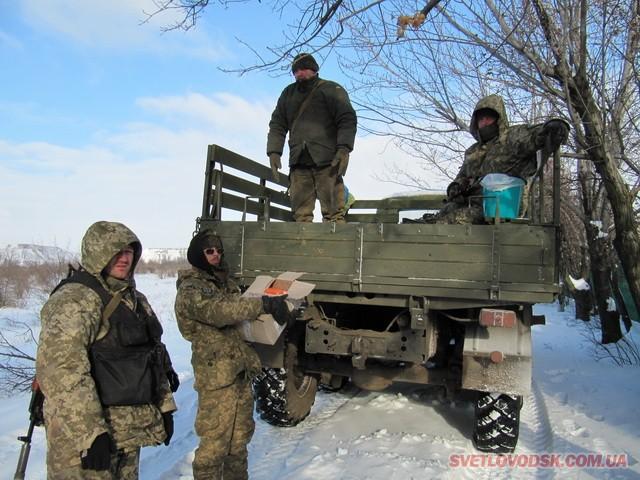 Чого потребують воїни, які знаходяться у зоні АТО