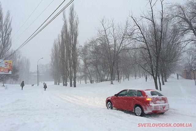 Випробовування снігопадами продовжуються (ДОПОВНЕНО)